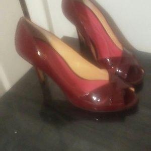 Kate Spade Wine Color Heels
